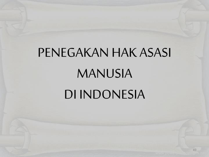 PENEGAKAN