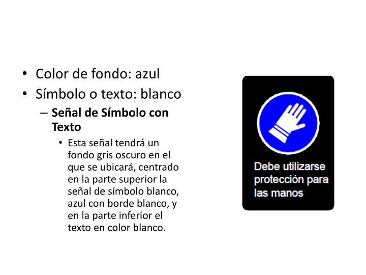 Color de