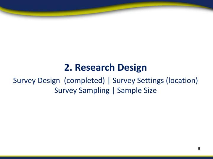 2. Research Design