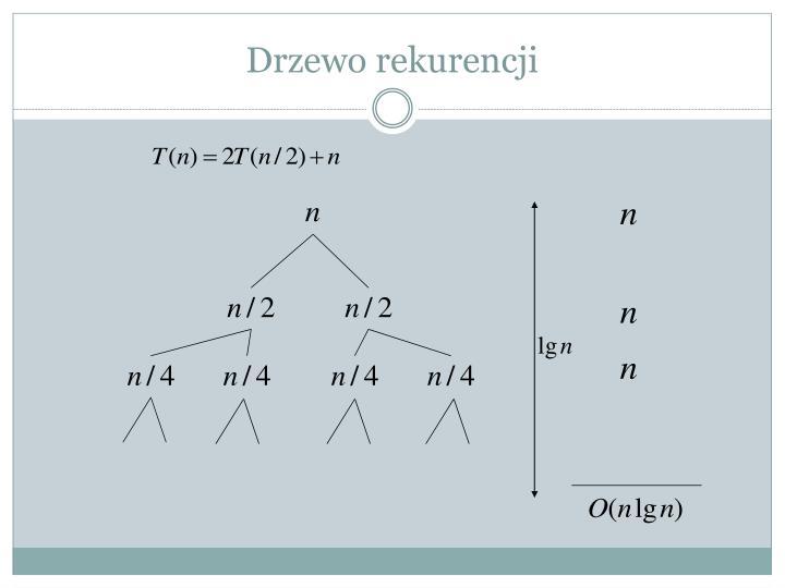 Drzewo rekurencji