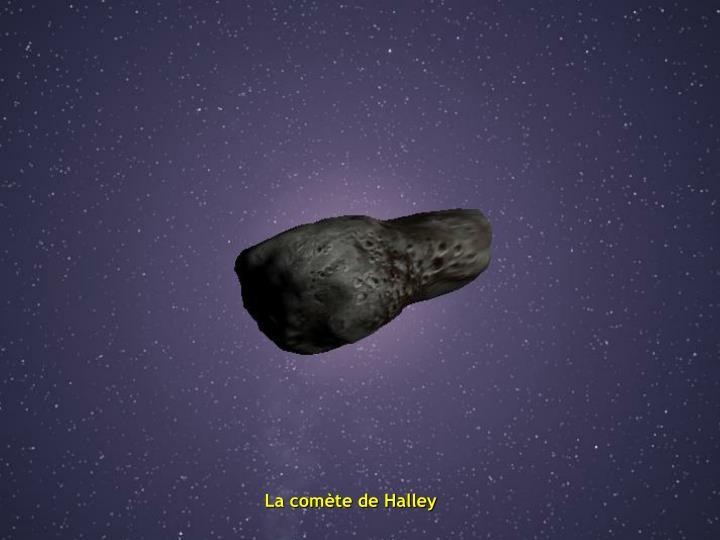 La comète de Halley