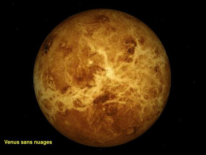 Venus sans nuages
