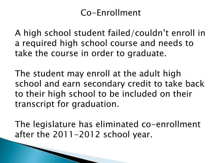 Co-Enrollment