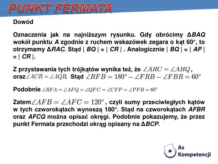 PUNKT FERMATA