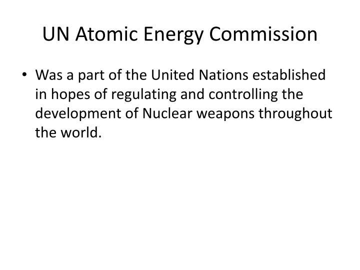 UN Atomic
