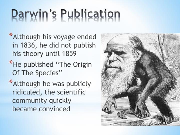 Darwin's Publication