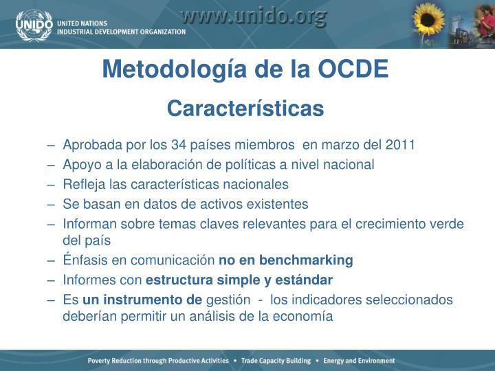 Metodología de la OCDE