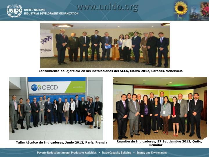 Reunión de Indicadores, 27 Septiembre 2012, Quito, Ecuador