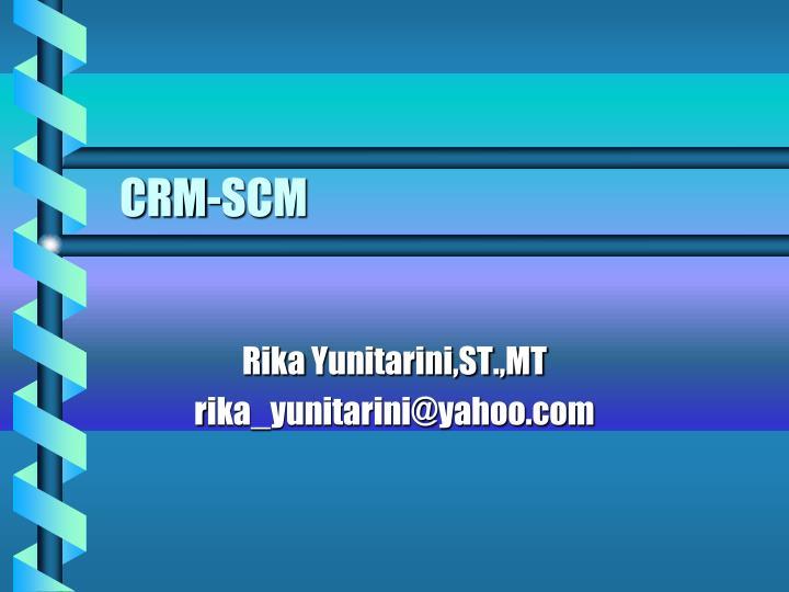 CRM-SCM
