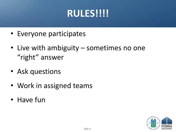 RULES!!!!