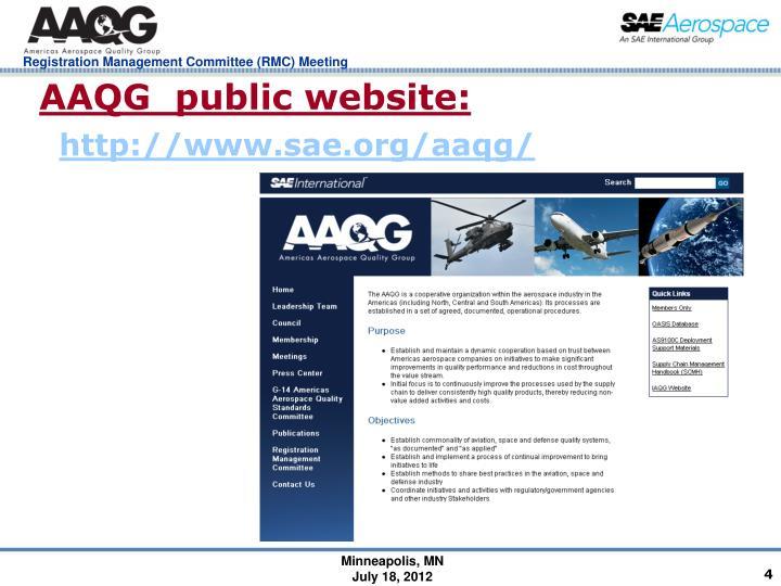 AAQG  public website: