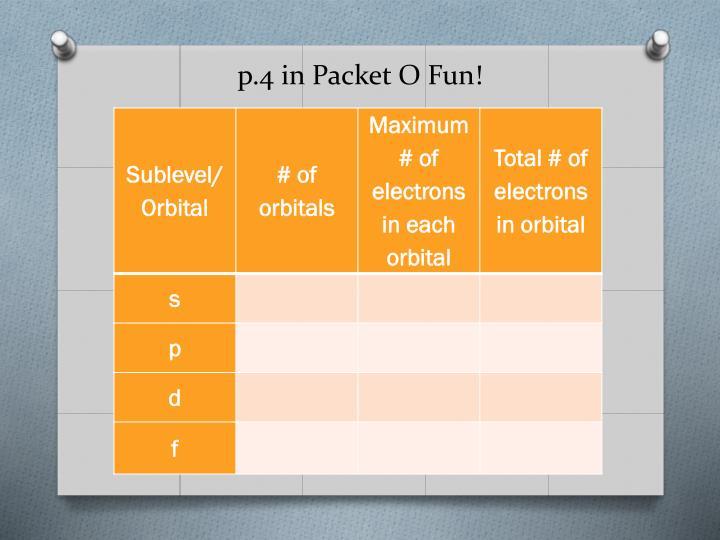 p.4 in Packet O Fun!