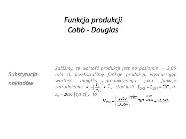 Funkcja produkcji