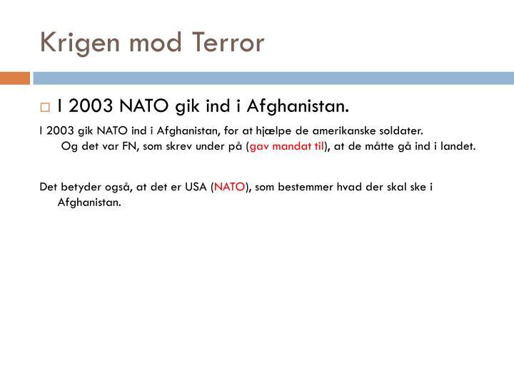 Krigen mod Terror