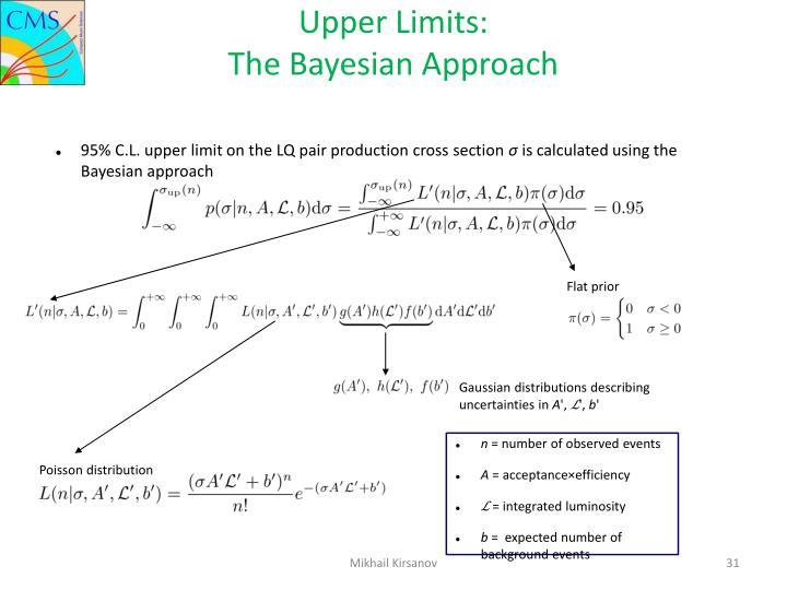 Upper Limits: