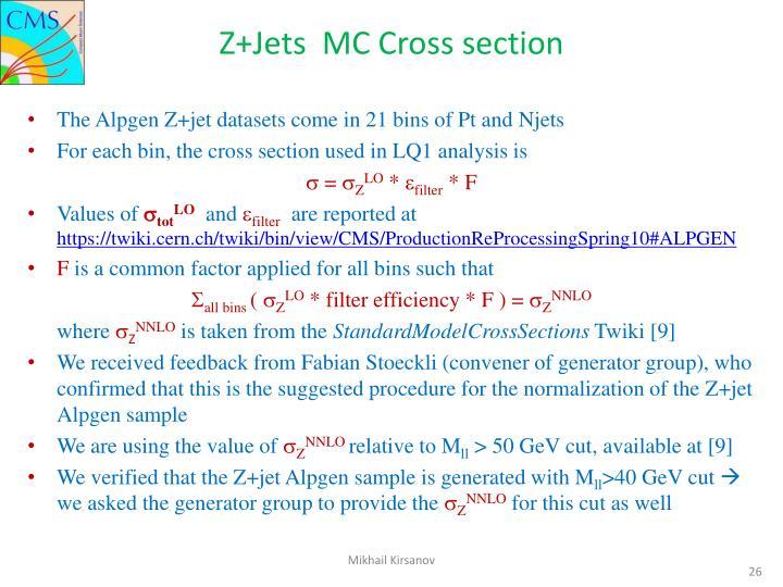Z+Jets
