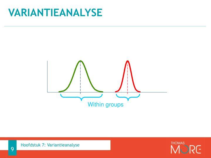 Variantieanalyse