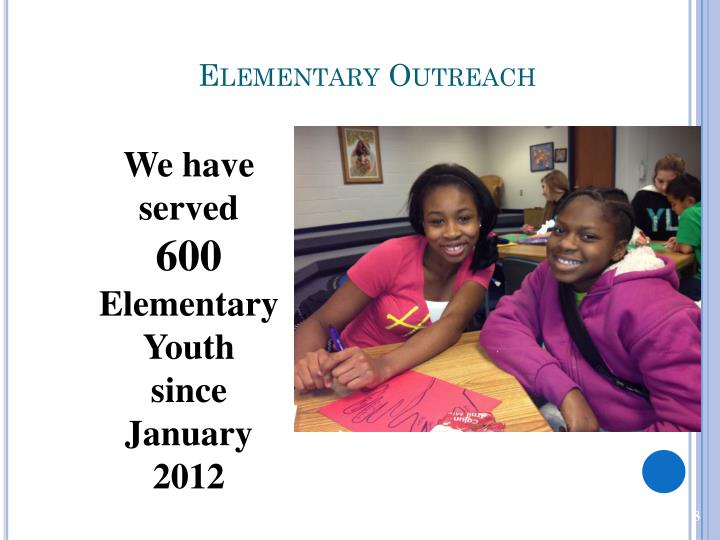 Elementary Outreach