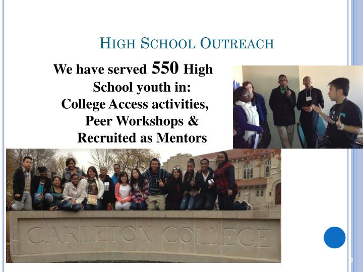 High School Outreach