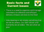 basic facts and current issues2