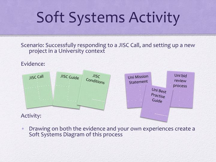 Soft Systems Activity