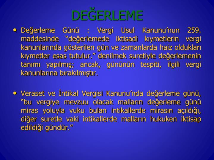 DEERLEME