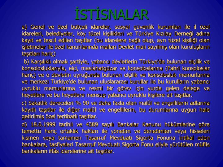 STSNALAR