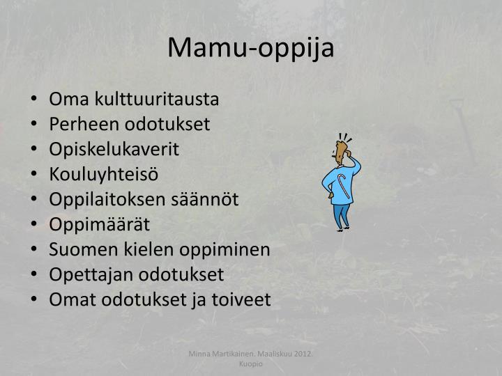 Mamu-oppija