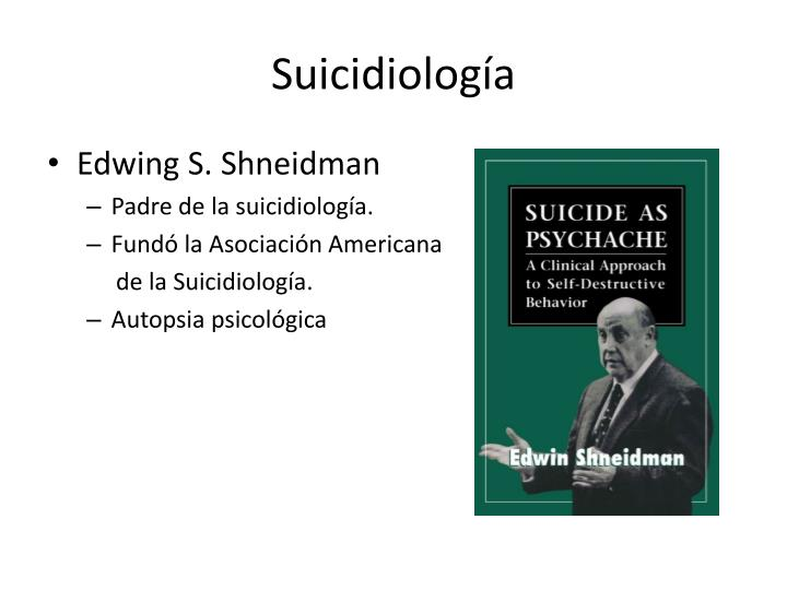 Suicidiología