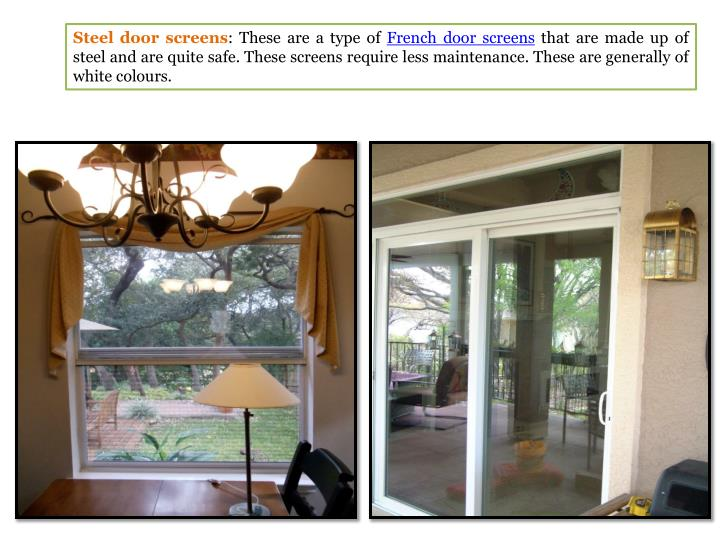 Ppt different types of patio door screen powerpoint for Different types of patio doors