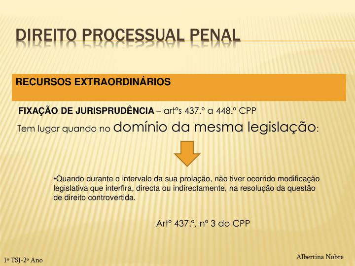Direito processual penal1