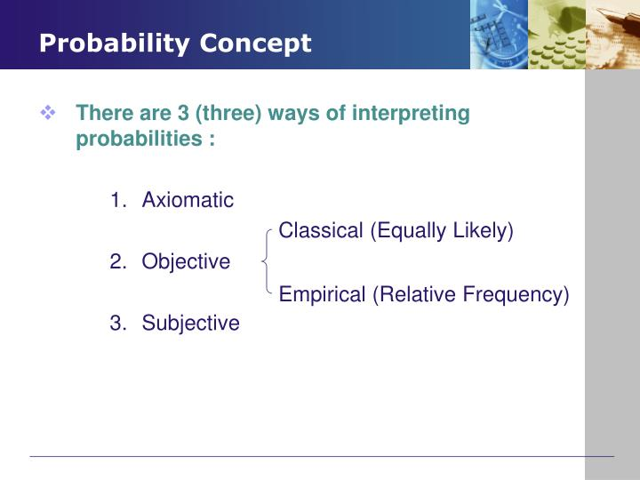Probability concept