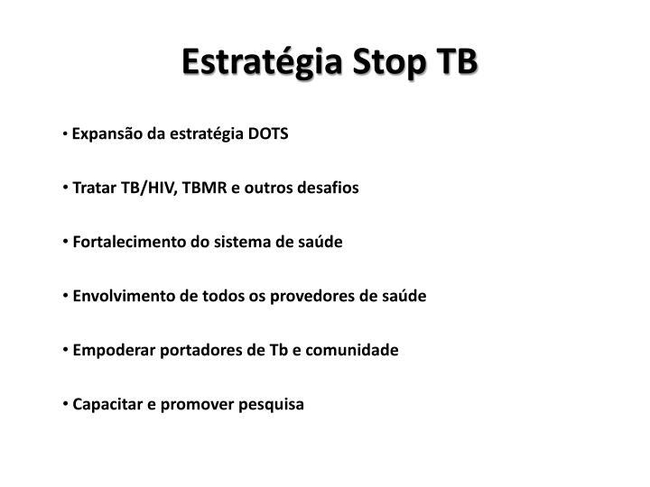 Estratégia Stop TB
