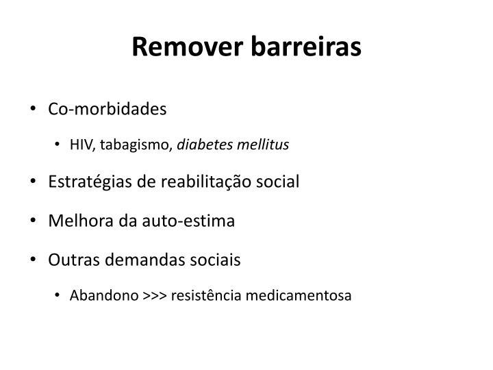 Remover barreiras