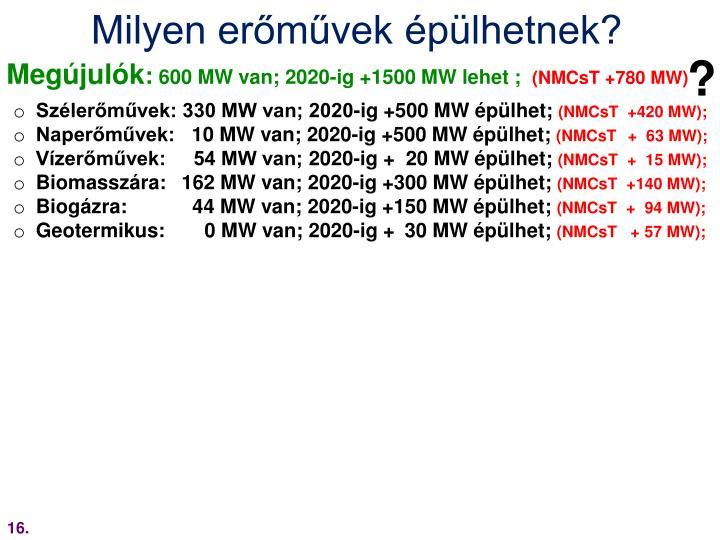 Milyen erőművek épülhetnek?