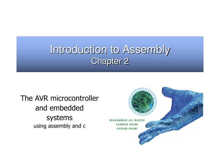 Introduction to assembly chapter 2