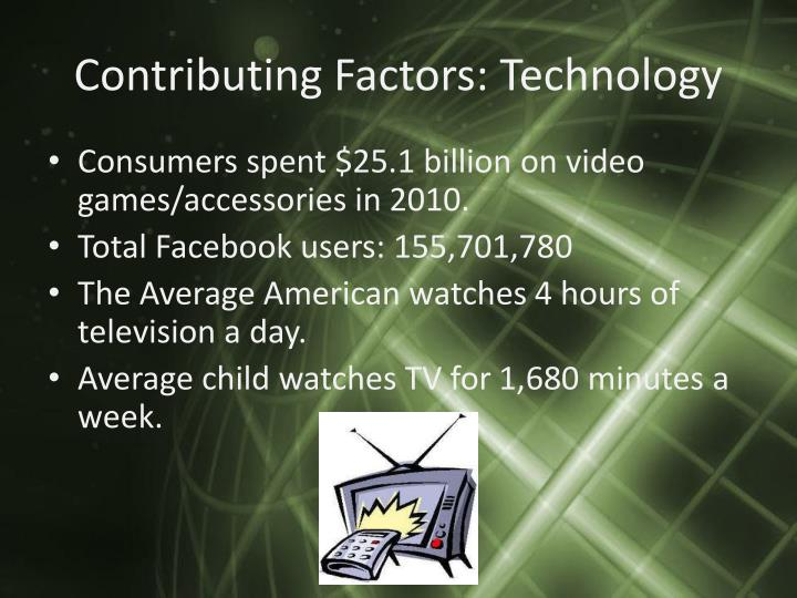Contributing Factors: Technology