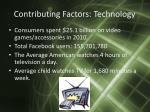 contributing factors technology