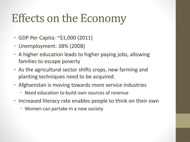 Effects on the Economy