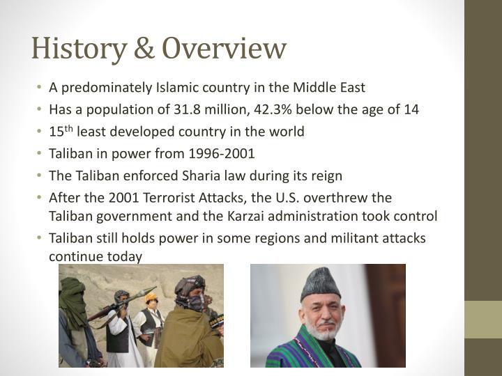 History & Overview