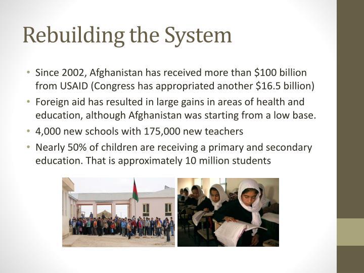 Rebuilding the System
