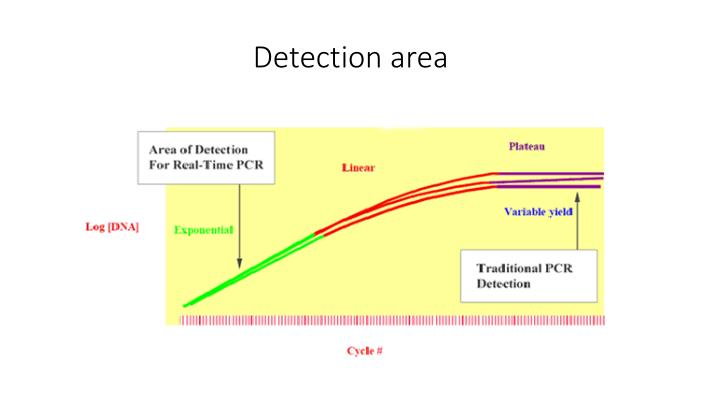 Detection area
