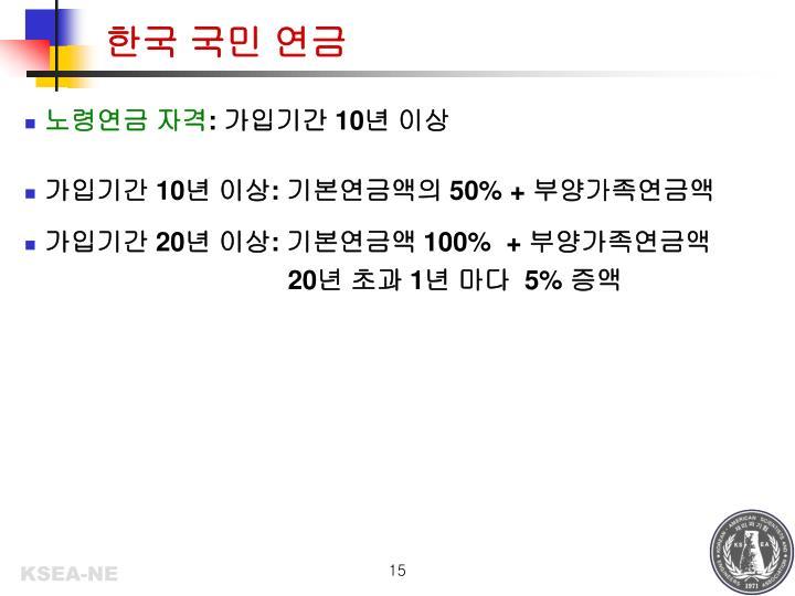 한국 국민 연금