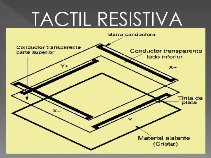 TACTIL RESISTIVA