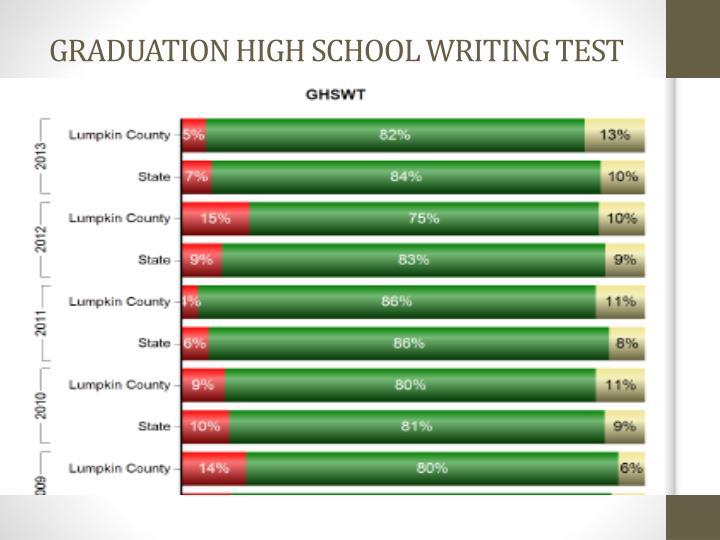 GRADUATION HIGH SCHOOL WRITING