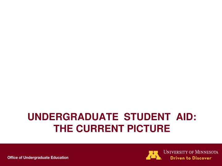 Undergraduate  Student  Aid:
