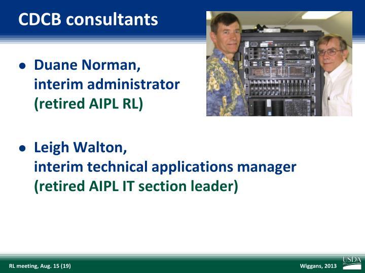 CDCB consultants