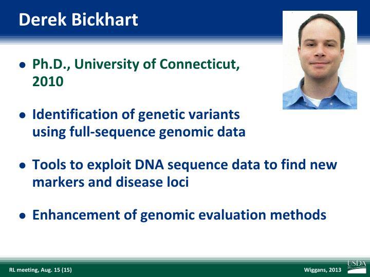 Derek Bickhart