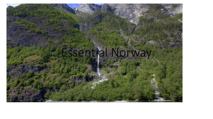 Essential norway