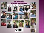 the 2012 2013 otis peer mentor team
